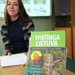 Nacionalinės bibliotekos darbuotoja Monika Ivaškaitė