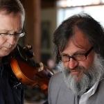 Muzikantas Juozas Staniulis ir renginio vedėjas Sigutis Jačėnas