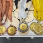 Nacionalinės bibliotekų olimpiados medaliai
