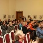 Lietuviškos muzikos ritinėlių pianolai pristatymo Lietuvos teatro, muzikos ir kino muziejuje dalyviai