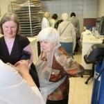 Dalyviai Nacionalinės bibliotekos Dokumentų konservavimo ir restauravimo centre