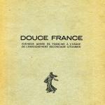 Prancūzų kalbos vadovėlio mokykloms viršelis. 1935 m.