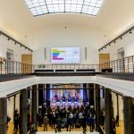 Bendra Lietuvos, Latvijos, Estijos ir Lenkijos Ministrų Pirmininkų spaudos konferencija vykusi Nacionalinėje bibliotekoje