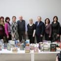 Nacionalinės bibliotekos atstovai kartu su Anykščių rajono savivaldybės Liudvikos ir Stanislovo Didžiulių viešosios bibliotekos kolektyvu