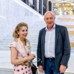 Graikijos ambasadorė Vassiliki Dicopoulou ir Nacionalinės bibliotekos generalinis direktorius prof. dr. Renaldas Gudauskas
