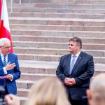 Lietuvos ir Lenkijos užsienio reikalų ministrai – Linas Linkevičius ir prof. Jacekas Czaputowiczius