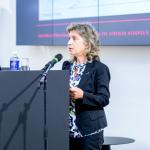 Graikijos kultūros ir sporto ministerijos Akropolio restauravimo tarnybos direktorė Vasiliki Eleftheriou