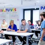 Moldovos nacionalinės bibliotekos atstovai sėmėsi patirties Nacionalinėje bibliotekoje