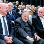 Prof. dr. Renaldas Gudauskas, prof. Vytautas Landsbergis, Česlovas Juršėnas