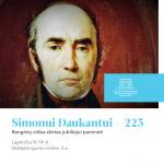 """Renginių ciklas """"Simonui Daukantui – 225"""""""