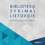 """Leidinio """"Bibliotekų tyrimai Lietuvoje"""" viršelis"""