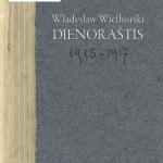 """Leidinio """"Władysławo Wielhorskio 1915–1917 m. dienoraštis"""" viršelis"""