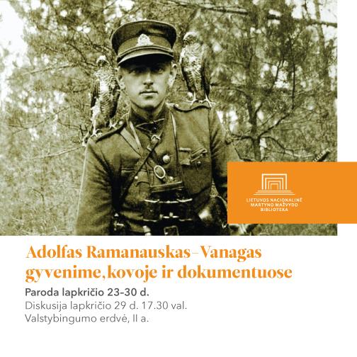 Adolfas Ramanauskas-Vanagas gyvenime, kovoje ir dokumentuose