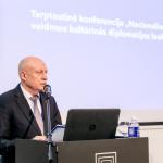 Nacionalinės bibliotekos generalinis direktorius prof. dr. Renaldas Gudauskas