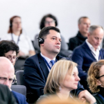 Konferencijos akimirka