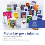 """""""Metų knygos rinkimai"""" – sausio mėnesio susitikimai su knygų autoriais"""