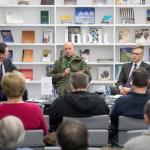 """Romano Zinenkos knygos """"Ilovaisko dienoraštis"""" pristatymas"""