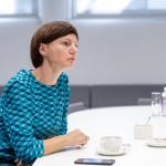 Lietuvos nacionalinio radijo ir televizijos (LRT) generalinė direktorė Monika Garbačiauskaitė-Budrienė