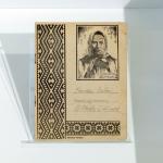 Mokyklinis sąsiuvinis su Žemaitės atvaizdu, 1921–1924. 24 p. 21 x 16,6 cm