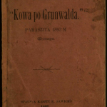 Jonas Grinius, Kowa po Grunwlda, 1892