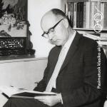 Poetas Henrikas Radauskas. Maironio lietuvių literatūros muziejaus archyvo nuotrauka