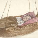 A. Žmuidzinavičius. Miega. 1903 © epaveldas.lt