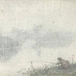 Antanas Žmuidzinavičius. Žvejys. 1904 © epaveldas.lt