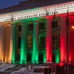 Nacionalinė biblioteka mini Laisvės gynėjų dieną