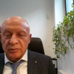 Nacionalinės bibliotekos generalinis direktorius prof. dr. Renaldas Gudauskas.