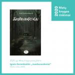 """2020-ųjų Metų knyga paaugliams – Ignės Zarambaitės """"Juodavandeniai"""" (leidykla """"Nieko rimto"""")"""