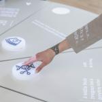Lietuvos gyvybės mokslų industrijos pasiekimų stendas Nacionalinėje bibliotekoje