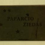 Paparčio žiedas / Butkų Juzė. – 1923 © epaveldas.lt