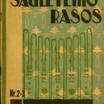 Saulėtekio rasos / [red.] Beržanskis. – 1927–1928 © epaveldas.lt