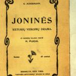 Joninės / G. Sudermann. – 1912. – 143 p. © epaveldas.lt