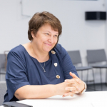 Dokumentinio paveldo tyrimų departamento direktorė Jolanta Budriūnienė