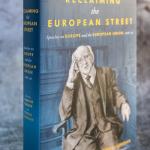 "Knyga ""Reclaiming The European Street: Speeches on Europe and the European Union, 2016-20 by Michael DHiggins"" (išleidoLilliput Press)"