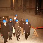 """Ekskusija """"Bibliotekos pastatui - 50 metų"""", 2013 m. gruodžio 4 d."""