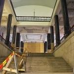 Nacionalinės bibliotekos pagrindiniai laiptai, 2013 m. gruodžio 4 d.