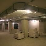 Saugyklų paruošimo apdailai darbai, 2013 m. sausio 23 d.
