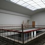 Rekonstruojamas bibliotekos atriumas 5 aukšte, 2010 m. balandžio 23 d.