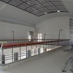 5 aukšto atriumo paruošimas apdailos darbams, 2015 m. birželio 23 d.