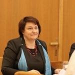"""Projekto """"Pokalbiai apie emigraciją"""" vadovė Jolanta Budriūnienė"""