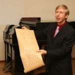 Unikalią kolekciją pristatė Vytauto Didžiojo universiteto Muzikos akademijos prof. dr. Darius Kučinskas