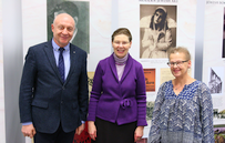 The Ambassador of the Kingdom of Sweden Had a Chance to See Unique Items from Judaica Exhibition